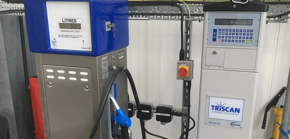 AdBlue fuel management system